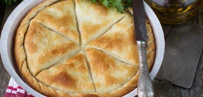 Рецепт сырного пирога тиропита по-гречески (фото и видео)