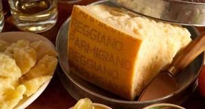Сыр пармезан из Пармы (Эмилия-Романья, Италия)