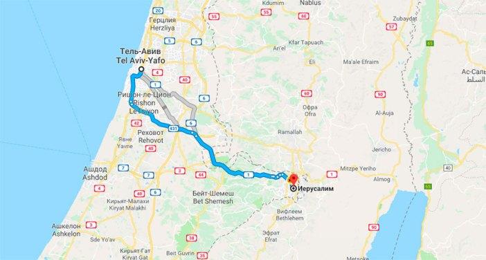 Как добраться из Тель-Авива в Иерусалим самостоятельно