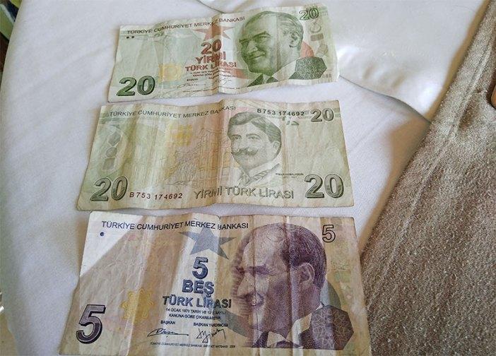 Турецкие банкноты (обмен денег в Турции)