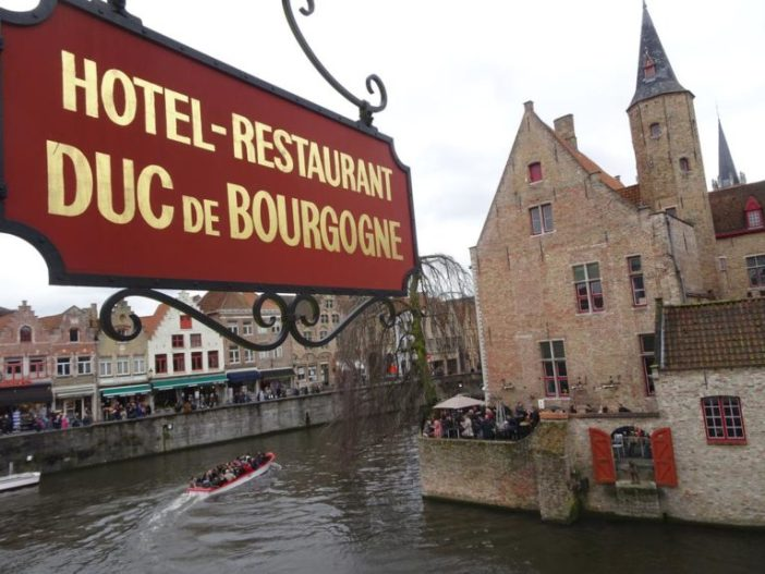Где остановиться в Брюгге на Рождество: Hotel Duc De Bourgogne