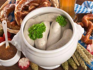 Еда на Октоберфесте: Вайсвурст (нем. Weißwurst)