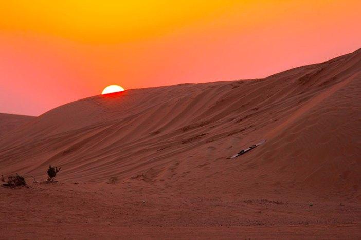 Что посмотреть в ОАЭ в мае: дубайская пустыня