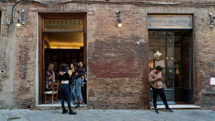 Лучшие рестораны в Сиене: Osteria le Logge