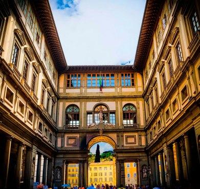 Фото: Уффици, Флоренция