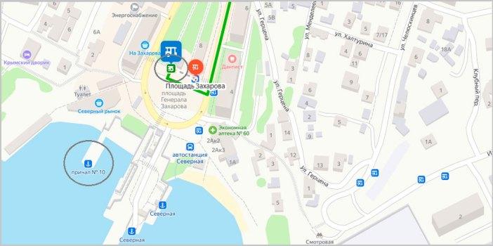 Площадь Захарова - Любимовка