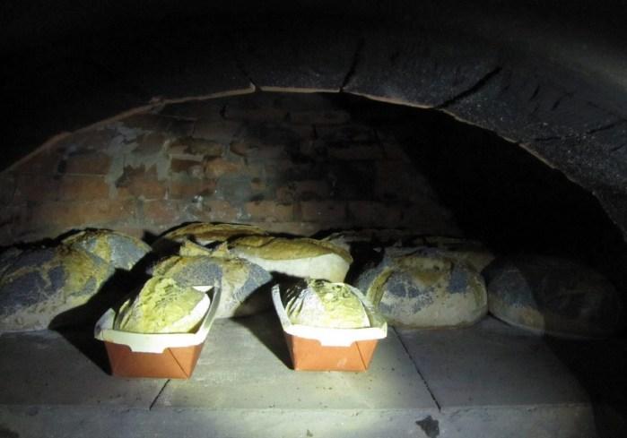 cuisson du pain dans four familial