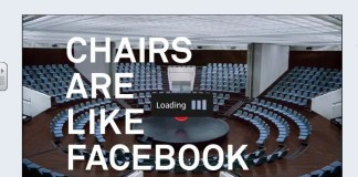 Chairs are Facebook