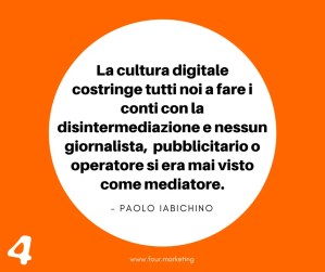 FOUR.MARKETING - PAOLO IABICHINO