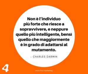 FOUR.MARKETING - CHARLES DARWIN