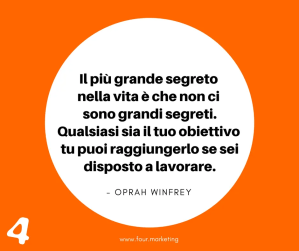 FOUR.MARKETING - OPRAH WINFREY