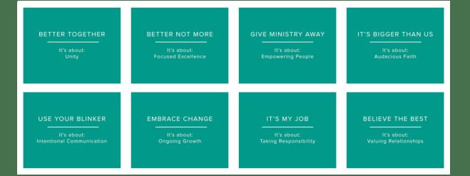 Ashley Ridge Church Values
