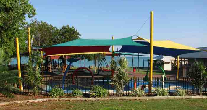 Water play park at Town Beach - Best Of The Kimberley