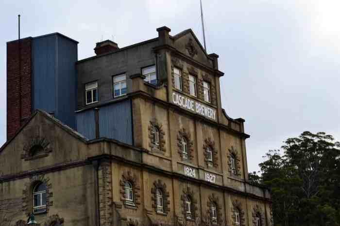 Hobart Cacade Brewery