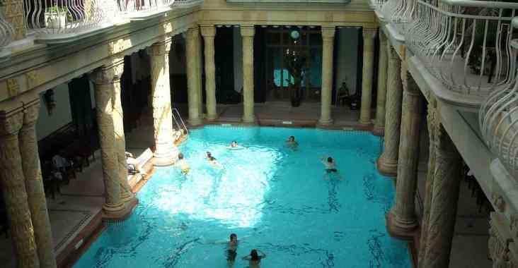 Visiting the Budapest Gellert Baths With Kids - Four Around The World