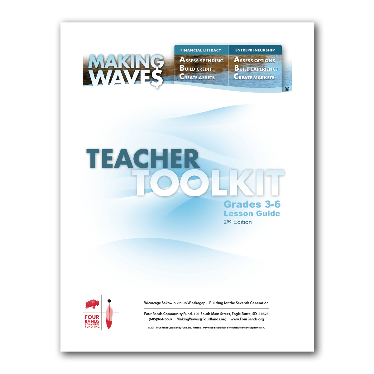 3 6 Making Waves Teacher Toolkit Four Bands Community Fund