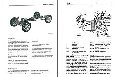 Mercedes C-Class Maintenance Manual