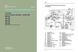 Mercedes GClass Repair Manual and Maintenance Manual Two DVD b