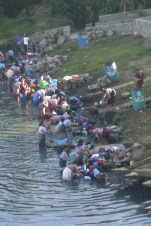 How it all begins.. sometimes in a lake (Lake Atitlan, Guatemala)