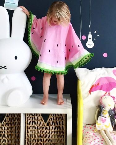 Watermelon costume DIY Halloween