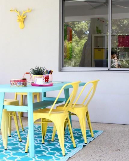 colourful home decor ideas