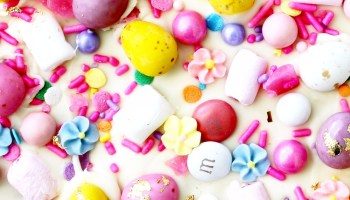Sugar free easter gift ideas for kids four cheeky monkeys easter bark delicious simple easter recipe negle Image collections
