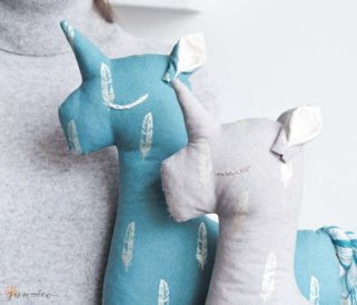 Unicorn Plush Toy - by Sun and Co more on the blog