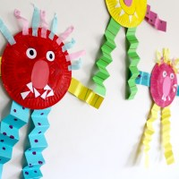 SAD MONSTER, GLAD MONSTER: Feelings Activities and Craft Ideas for Children
