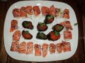 Salmon Nigiri Sushi creation