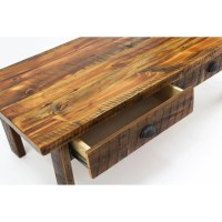 Plank Coffee Table With Drawers - Coffee Table Design Ideas