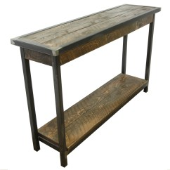 Make A Rustic Sofa Table Single Size Sleeper Wooden  Review Home Decor
