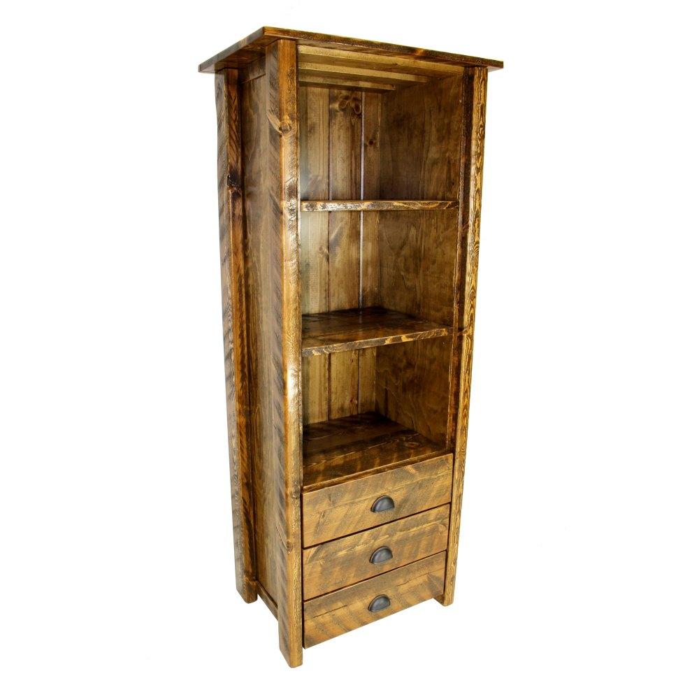 medium resolution of rustic linen cabinet