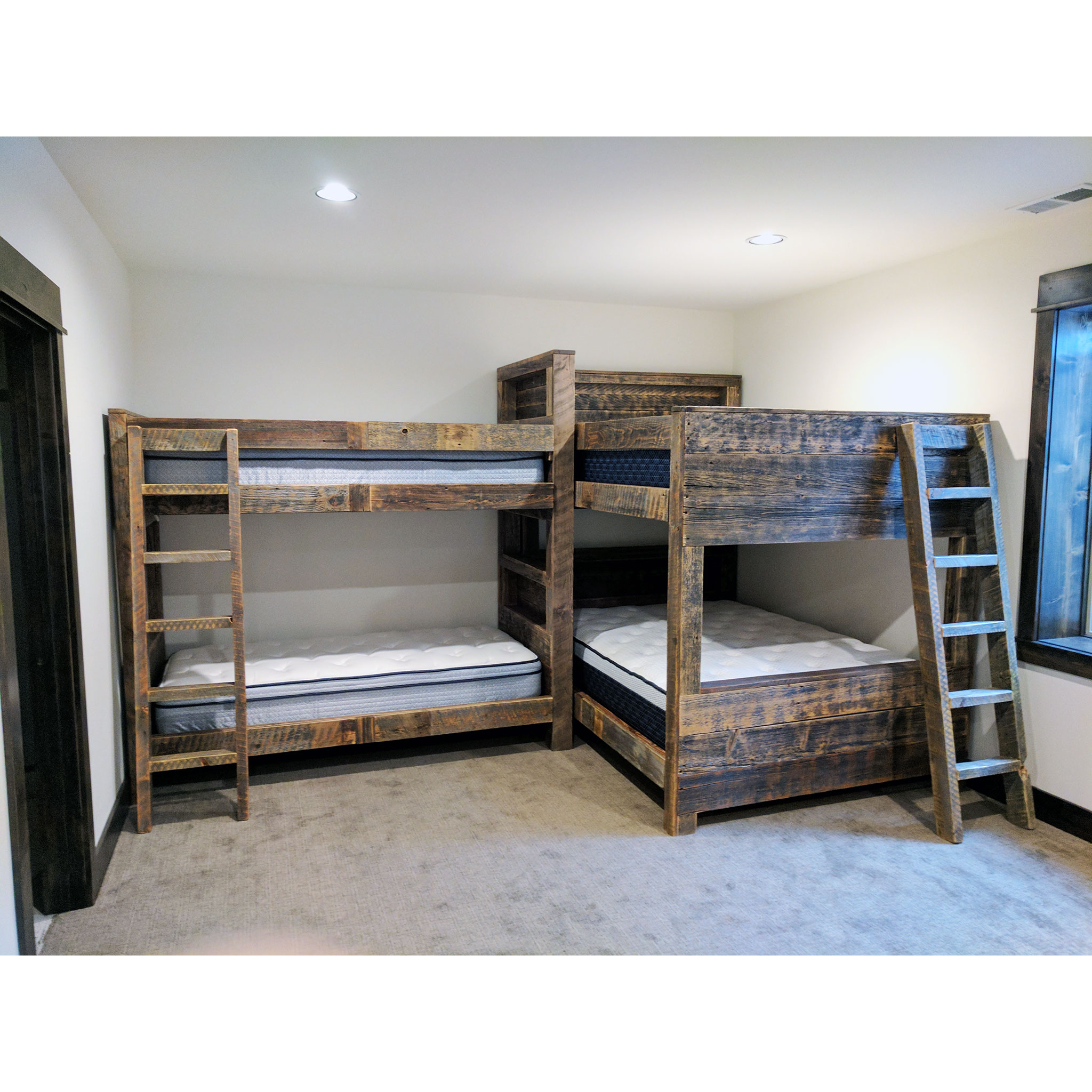 Custom And Built In Bunk Beds Four Corner Furniture Bozeman Mt