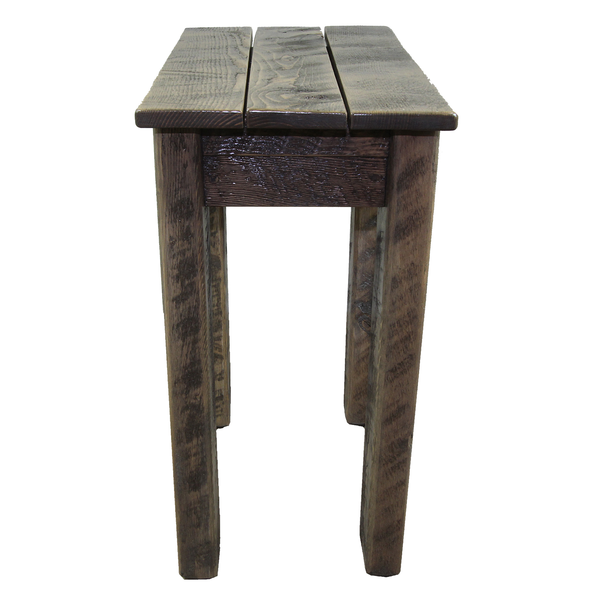 simple small rustic side table
