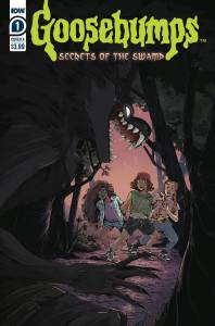 IDW Comics - Goosebumps Secrets of the Swamp #1