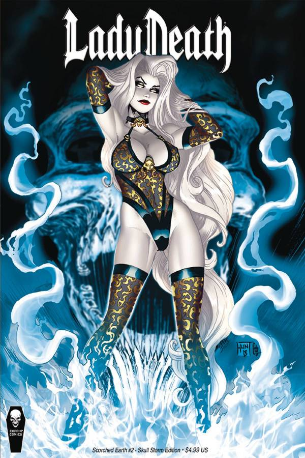 Lady Death #2 Skull Storm Edition KEN HUNT