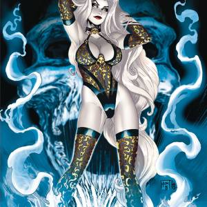 Lady Death #2 Skull Storm Edition KEN HUNT