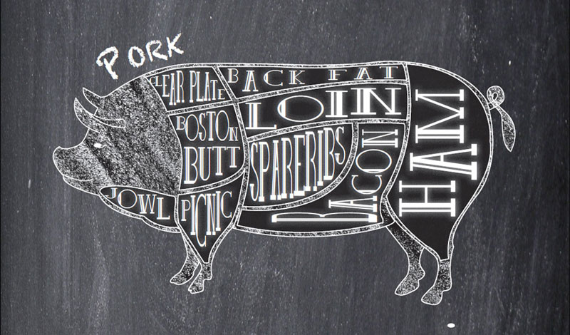 Range Raised Pork: Winter Larder Wonder