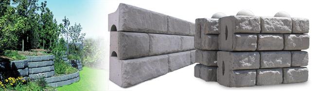 Large Precast Concrete Wall Blocks