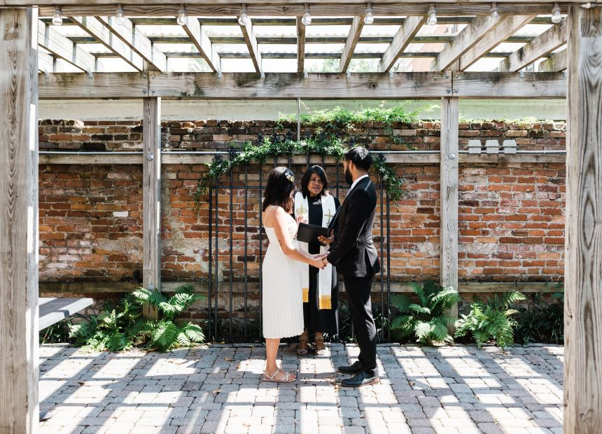 Erin & Baron – a wedding covid style June 24th, 2020