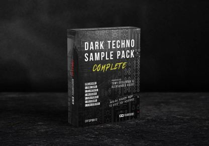 Dark Techno Sample Pack - Complete - Box