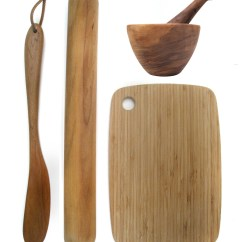 Kitchen Wooden Utensils Island Carts Day 324 Four For The