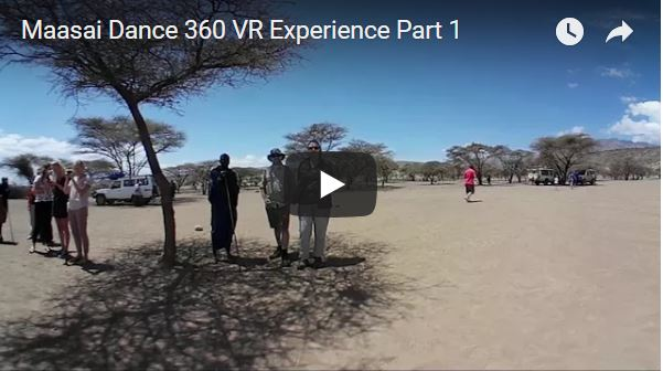 Maasai Dance 360 VR Experience Part 1