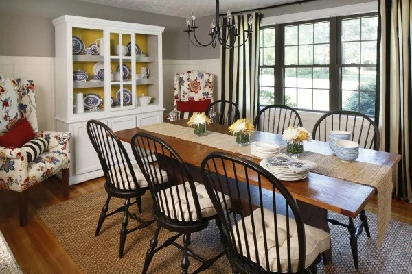 Coastal Cottage Dining Room {before And After} Four