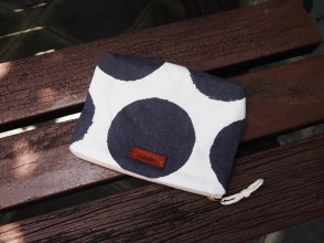 DIANE Pouch - Grey spots (SOLD)