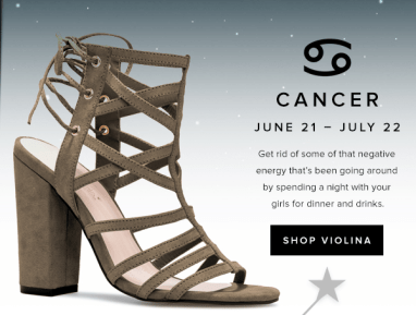 Shoe Dazzle_Cancer