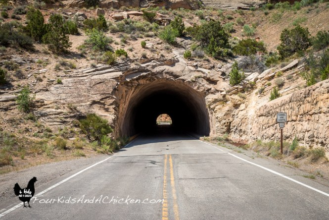 tunnel at colorado national monument