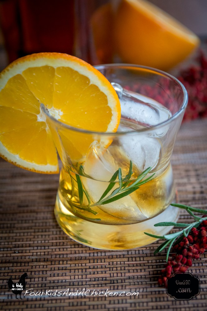how to make a sumac old fashioned