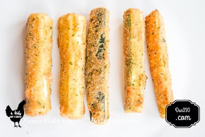 fried zucchini fries