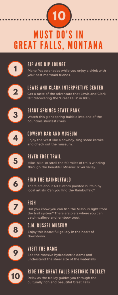 top 10 things to do in great falls
